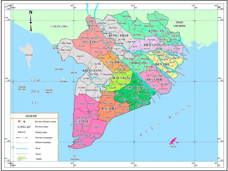 Phan Bố địa Ly Tren Tấm Bản đồ Miền Tay Thế Giới địa Chất